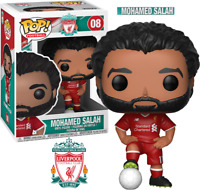 FUNKO POP EPL FOOTBALL - LIVEREPOOL FC - MOHAMED SALAH - FIGUR NEU/OVP