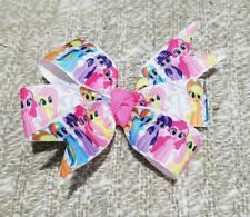 3inches my little pony pin wheel bows toddler girl nonslip clip horse