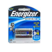 Energizer L91BP Single Use Batteries AA ULTIMATE LITHIUM Battery 2 Pack