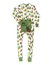 LAZY ONE 'No Peeking' Union Suit Pajamas Size Medium Unisex Moose and Trees