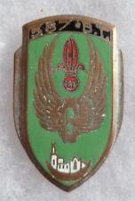 Insigne 587° BT BATAILLON du TRAIN Tablat AFN ALGERIE variante AREMAIL PARIS