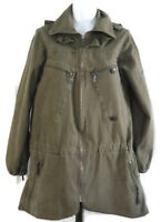 Urban Renewal Utility Coat S/M Parka Outfitters Upcycled Army Vintage Fabrics