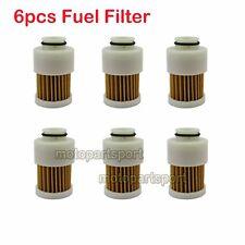 6x Fuel Filter For 4 Stroke Outboard Motor 75 90 HP 115HP Mercury 881540 18-7979