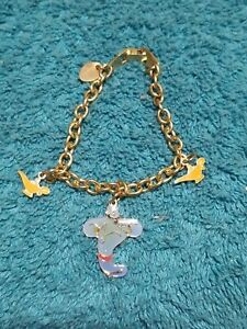 Disney Aladdin GENIE & Lamp Enamel Bracelet