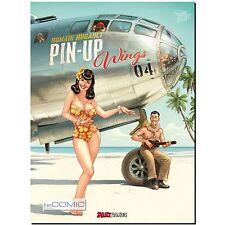 Pin up Wings 4 Romain Hugault PINUP ARTBOOK EROTIK ZEICHNUNG COMIC GRAFIK 50er