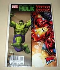 The Incredible HULK / IRON MAN # 1 (One-Shot) Marvel Promo Comic   2008  NM