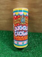 1987 Ringling Bros Barnum and Bailey Circus 3 Juggle Clowns vintage for juggling