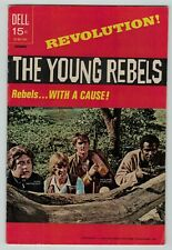 The Young Rebels 1 TV series photo cover 1971 Dell Comics VG VG+