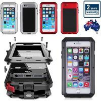 IPHONE 7 6S Plus SAMSUNG Aluminium Shockproof Heavy Duty Phone Metal Cover Case