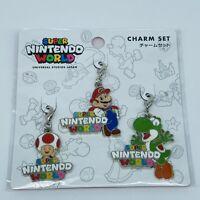 Super Mario Bros Charm Set Nintendo World UNIVERSAL STUDIOS JAPAN 2020 Yoshi