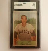 1954 Bowman #66 Jimmy Piersall Boston Red Sox SGC 4