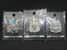 Hard Rock Cafe Icon Series Amsterdam, Berlin, Brussels Pin Set/Lot