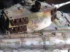 1/35 PANZER KINGTIGER KÖNIGSTIGER TIGER II  GEBAUT Wehrmacht Ungarn März 1945