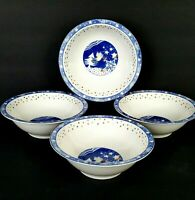 Epoch Mr Snowman 4 Christmas Winter Cereal Bowls 6.5 inch More Pieces Available