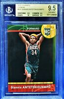 2013-14 Panini International Giannis Antetokounmpo Rookie RC (BGS 9.5) True Gem