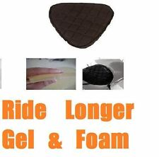Motorcycle Gel Pad for Harley-Davidson FXSB Breakout Softail Driver Seat Black