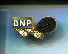 RARE PINS PIN'S .. TENNIS ROLAND GARROS BANQUE BNP NOIR BERCY 90 ARTHUS B. ~CR