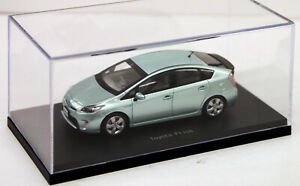1:43 Scale Model Toyota Prius Hybrid 2009 XW30 Frosty Green Ebbro Diecast Car