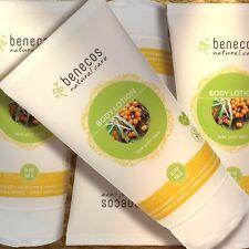 Benecos Doppel-Pack Body Lotion Sanddorn & Orange 2x150ml Naturkosmetik bio vega