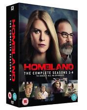 HOMELAND COMPLETE SEASON SERIES 1 2 3 4  DVD BOXSET 16 DISCS REGION 4