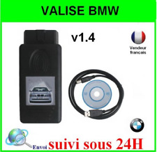 ELM DIAGNOSTIQUE INTERFACE BMW SCANNER V1.4.0 K+DCAN  K-CAN OBD OBD2 OBDII USB