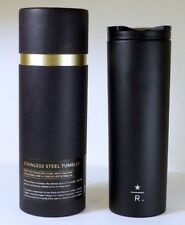 Starbucks Reserve 16 oz Black Stainless Steel Tumbler Limited edition NIB 2012