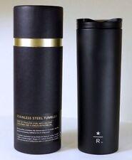 Starbucks Reserve 16 oz Black Stainless Steel Tumbler Limited edition NIB 2012