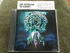 The Almighty - Soul Destruction JAPAN CD 1991 14trk POCP-1098