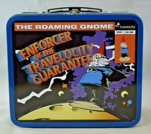 Travelocity - The Roaming Gnome Metal Tin Lunch Box Container (Dec. 2006)