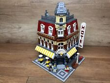 Lego 10182 Cafe Corner Modular Buildings Café Corner Nachbau!!! Rebricked!!!