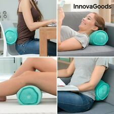 InnovaGoods Wellness Relax Massage Nackenrolle Kissen Massagekissen