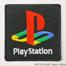 Sony Playstation 1 2 3 4-jeu vidéo logo brodés thermocollants patch!
