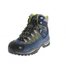 Stivali, anfibi e scarponcini da uomo blu da trekking, escursione, arrampicata