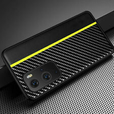 Ultra-thin Carbon Fiber Leather Case Cover Shell for OnePlus 9 Pro Mobile Phone