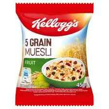 Kelloggs fruits Muesli 45 G X 32 individuel Packs céréales Catering portions museli