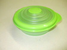 Tupperware  1 Cup Stuffables Bowl 5422 Green Lid Seal