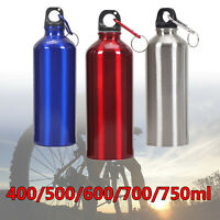 Simple Aluminum Gym Water Drinking Bottle Vacuum Insulated Sports Metal Flask