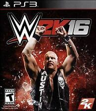 WWE 2K16 (Sony PlayStation 3, 2015)  Complete  Fast Shipping !!     PS3