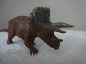 Battat VINTAGE Triceratops Dinosaur  MINIATURE 1997 - New Condition
