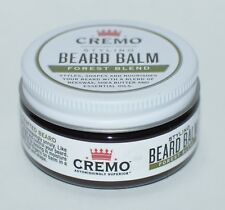 NEW CREMO STYLING BEARD BALM FOREST BLEND 2 OZ BEESWAX SHEA BUTTER ESSENTIAL OIL