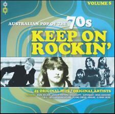 70's (2 CD) KEEP ON ROCKIN' - AUSTRALIAN POP OF THE 70's - Volume 5 *NEW*
