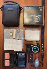 Sony Alpha A6400 24.2MP Digital Camera - Black Body, Original Box with extras!