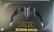 NECA BATMAN 1989 BATARANG REPLICA MOVIE PROP