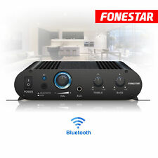 Bluetooth Speaker Stereo Amplifier with Aux Line Mic In and EQ Home Audio Music