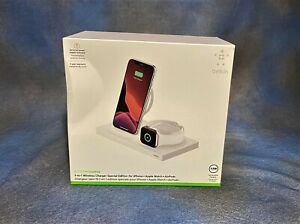 NEW Belkin BOOST CHARGE 3-in-1 Wireless Charger for iPhone Apple Watch AirPod