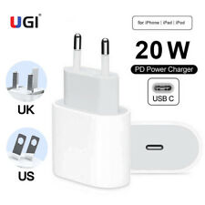 US UK EU Plug PD 9V 20W Type C Fast Wall Charger Adapter For iPhone 12 11 Pro XR