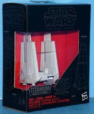 Star Wars The Force Awakens BLACK SERIES TITANIUM #03 Kylo Ren's Com. Shuttle