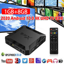 Android 10.0 OS X96Q UK Smart TV BOX Quad Core WIFI ALLWINNER 4K 3D Media Player