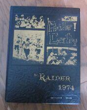 Southland Academy YEARBOOK The RAIDER Americus Montezuma Georgia 1974