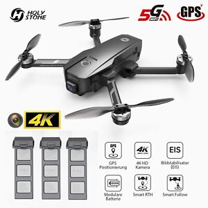Holy Stone HS720E GPS Drone with EIS 4K HD Camera RC FPV Brushless Quadcopter